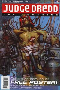 Cover Thumbnail for Judge Dredd the Megazine (Fleetway Publications, 1990 series) #14
