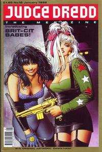Cover Thumbnail for Judge Dredd the Megazine (Fleetway Publications, 1990 series) #16