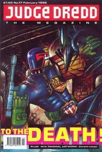 Cover Thumbnail for Judge Dredd the Megazine (Fleetway Publications, 1990 series) #17