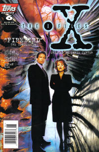 Cover Thumbnail for The X-Files (Topps, 1995 series) #6 [Newsstand Edition]