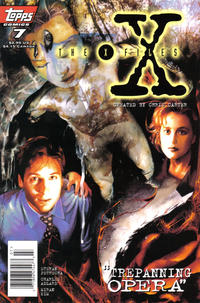 Cover Thumbnail for The X-Files (Topps, 1995 series) #7 [Newsstand Edition]