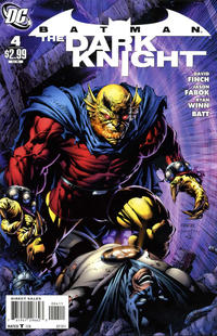 Cover Thumbnail for Batman: The Dark Knight (DC, 2011 series) #4 [David Finch / Scott Williams Cover]