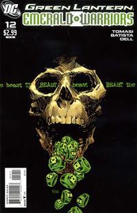 Cover Thumbnail for Green Lantern: Emerald Warriors (DC, 2010 series) #12