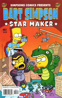 Cover Thumbnail for Simpsons Comics Presents Bart Simpson (Bongo, 2000 series) #61