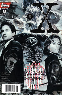 Cover Thumbnail for The X-Files (Topps, 1995 series) #8 [Newsstand Edition]