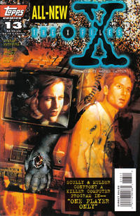 Cover Thumbnail for The X-Files (Topps, 1995 series) #13 [Direct Edition]