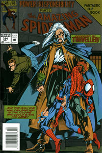 Cover Thumbnail for The Amazing Spider-Man (Marvel, 1963 series) #394 [Flipbook] [Newsstand]