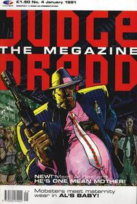 Cover Thumbnail for Judge Dredd the Megazine (Fleetway Publications, 1990 series) #4
