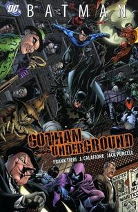 Cover Thumbnail for Batman: Gotham Underground (DC, 2008 series)