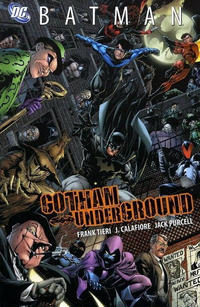 Cover Thumbnail for Batman: Gotham Underground (DC, 2008 series)