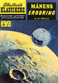 Cover Thumbnail for Illustrerte Klassikere [Classics Illustrated] (Illustrerte Klassikere / Williams Forlag, 1957 series) #56 - Månens erobring [2. opplag]