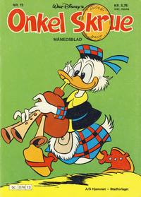 Cover Thumbnail for Onkel Skrue (Hjemmet / Egmont, 1976 series) #13