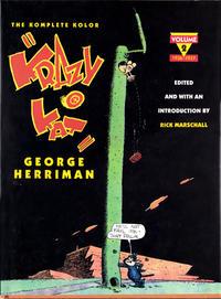 Cover Thumbnail for The Komplete Kolor Krazy Kat (Remco Worldservice Books, 1990 series) #2 - 1936 - 1937
