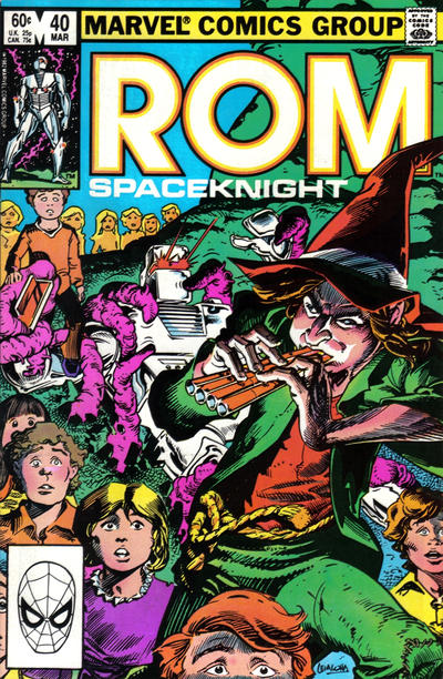 Cover for ROM (Marvel, 1979 series) #40 [Newsstand Edition]