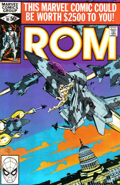 Cover for ROM (Marvel, 1979 series) #10 [Direct Edition]