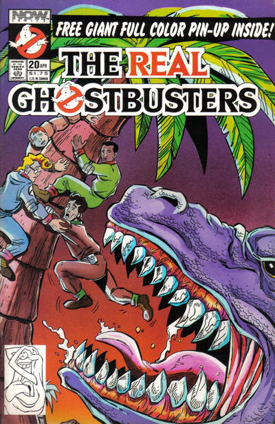 Cover for The Real Ghostbusters (Now, 1988 series) #20
