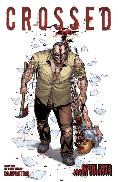 Cover for Crossed (Avatar Press, 2008 series) #7