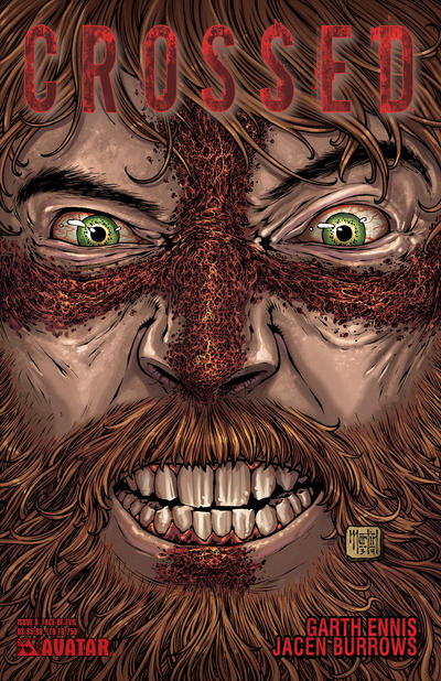 Cover for Crossed (Avatar Press, 2008 series) #8