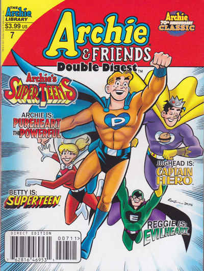 Cover for Archie & Friends Double Digest Magazine (Archie, 2011 series) #7 [Direct]
