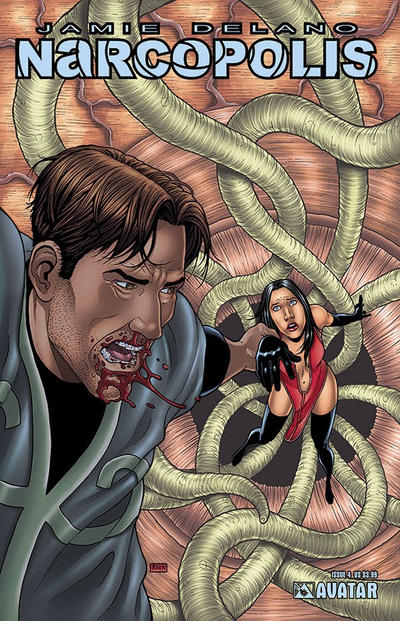 Cover for Jamie Delano's Narcopolis (Avatar Press, 2008 series) #4