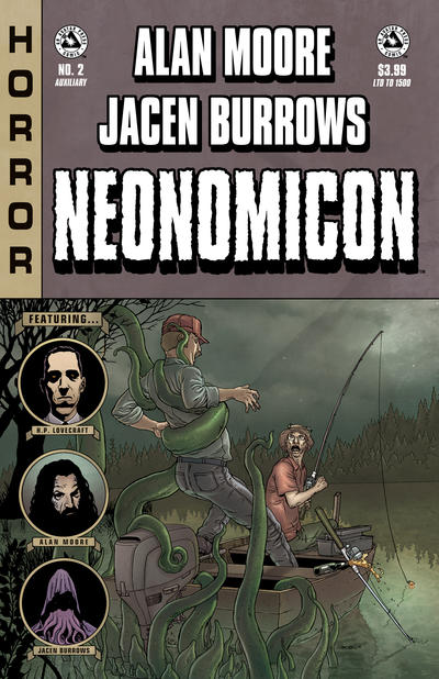 Cover for Alan Moore's Neonomicon (Avatar Press, 2010 series) #2 [Auxiliary]