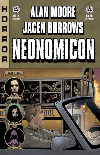 Cover for Alan Moore's Neonomicon (Avatar Press, 2010 series) #3