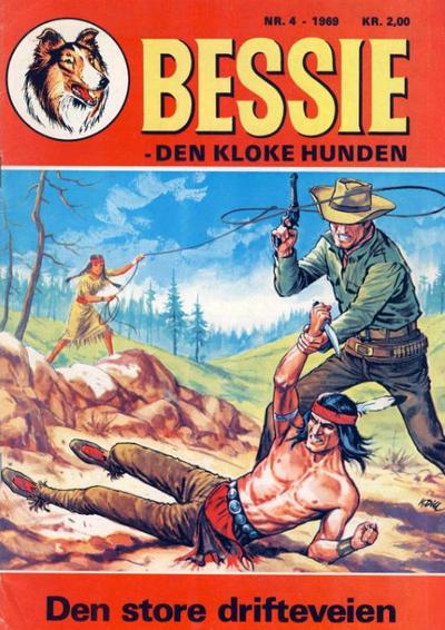 Cover for Bessie (Serieforlaget / Se-Bladene / Stabenfeldt, 1969 series) #4/1969