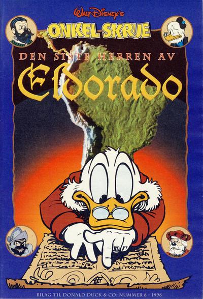 Cover for Bilag til Donald Duck & Co (Hjemmet / Egmont, 1997 series) #8/1998