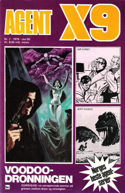 Cover for Agent X9 (Semic, 1976 series) #7/1976