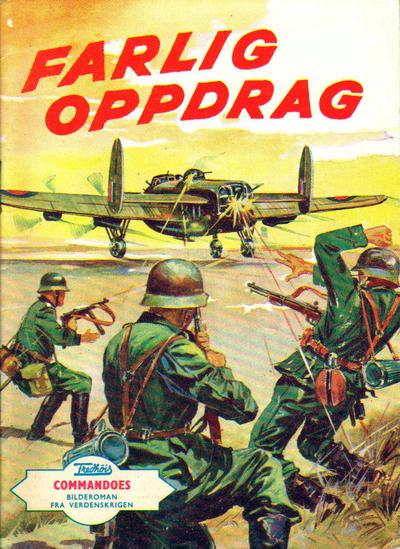 Cover for Commandoes (Fredhøis forlag, 1962 series) #v2#32