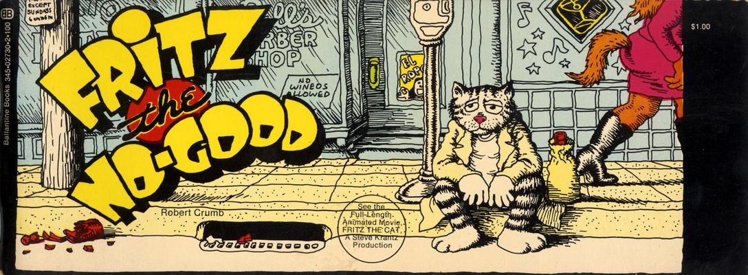 Cover for Fritz the No-Good (Ballantine Books, 1972 series)