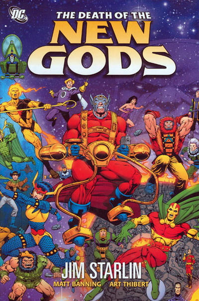 Cover for The Death of the New Gods (DC, 2008 series)