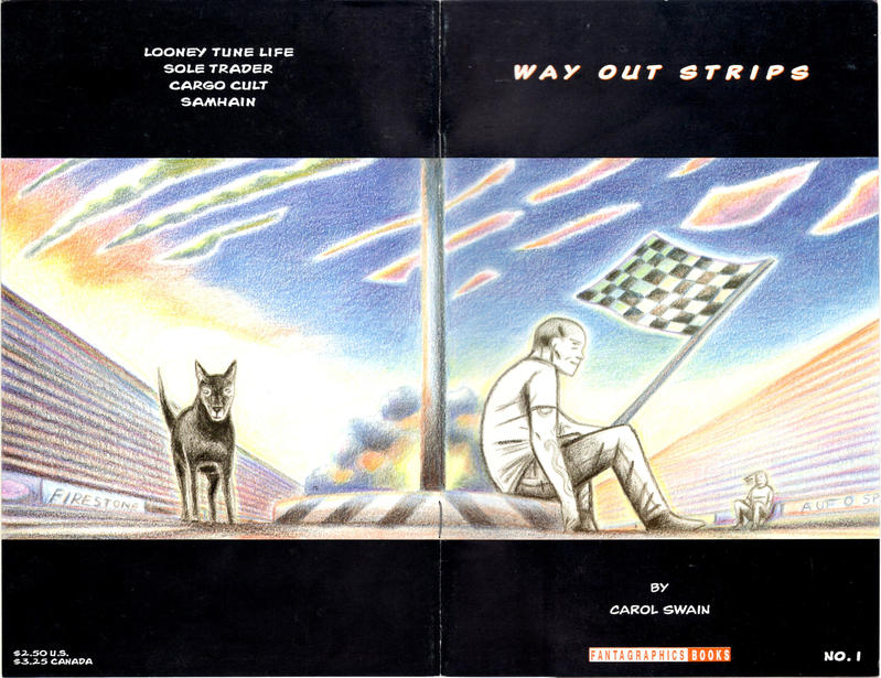 Cover for Way Out Strips (Fantagraphics, 1994 series) #1