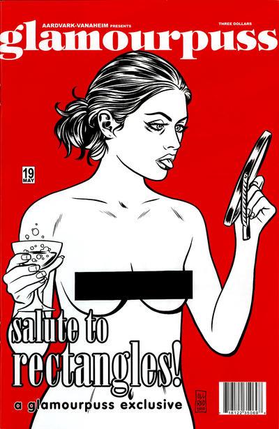 Cover for glamourpuss (Aardvark-Vanaheim, 2008 series) #19