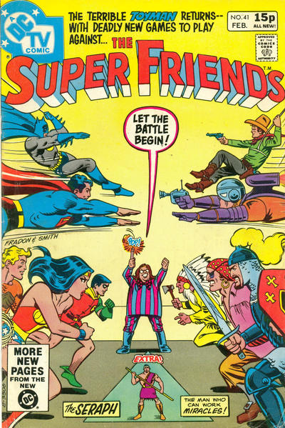 Cover for Super Friends (DC, 1976 series) #41 [British Price Variant]