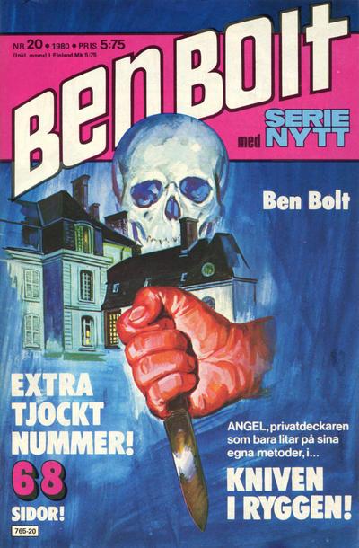 Cover for Serie-nytt [delas?] (Semic, 1970 series) #20/1980