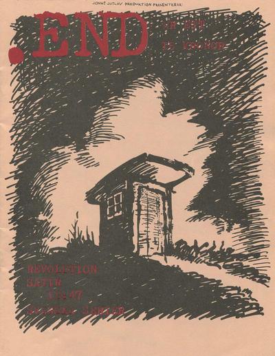 Cover for .End (Jonni Jutlöv; Jomi Jutlöv, 1990 series) #1