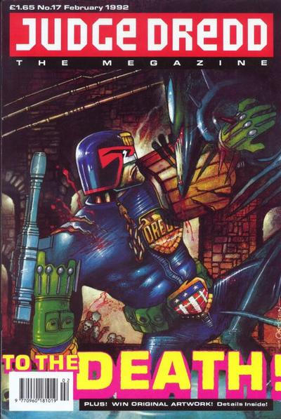 Cover for Judge Dredd the Megazine (Fleetway Publications, 1990 series) #17