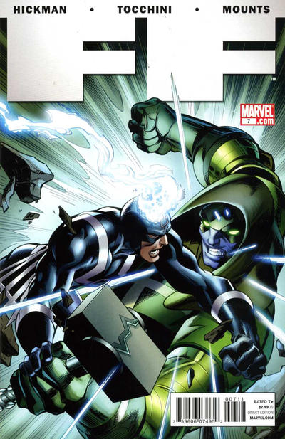 Cover for FF (Marvel, 2011 series) #7