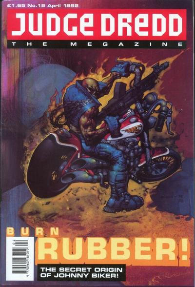 Cover for Judge Dredd the Megazine (Fleetway Publications, 1990 series) #19