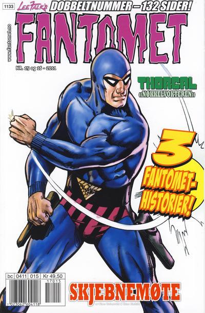 Cover for Fantomet (Hjemmet / Egmont, 1998 series) #15-16/2011