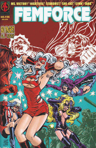 Cover for FemForce (AC, 1985 series) #156