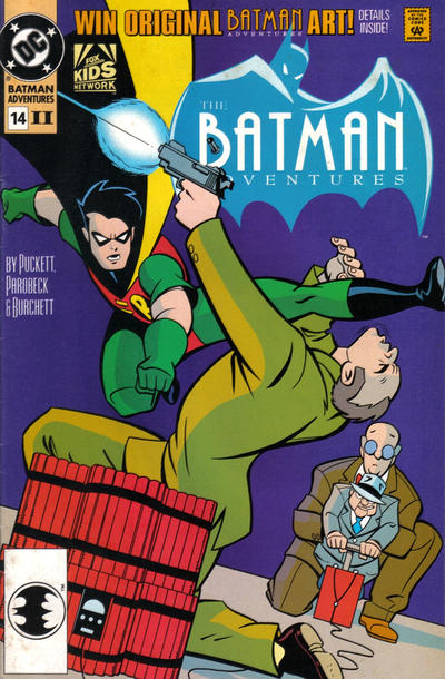 Cover for The Batman Adventures (DC, 1992 series) #14 [2nd Print]