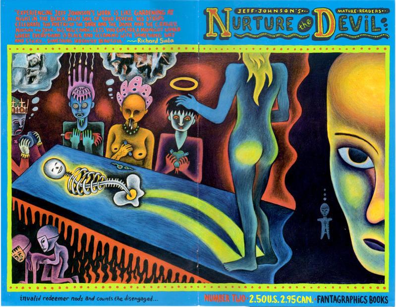Cover for Nurture the Devil (Fantagraphics, 1994 series) #2