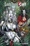 Cover for Lady Death / Shi (Avatar Press, 2007 series) #0 [Canvas]