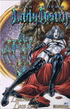 Cover for Brian Pulido's Lady Death Leather & Lace 2005 (Avatar Press, 2005 series)  [Prism Foil]