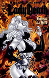 Cover Thumbnail for Brian Pulido's Lady Death: Abandon All Hope (2005 series) #4 [Gold Foil]