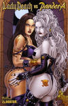 Cover for Lady Death vs Pandora (Avatar Press, 2007 series) #1 [Fetish]