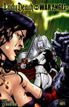 Cover for Brian Pulido's Lady Death vs War Angel (Avatar Press, 2006 series) #1 [Bring it On]
