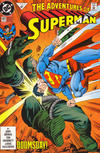 Cover for Adventures of Superman (DC, 1987 series) #497 [Direct]